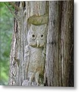 Mr Tingle's Owl Metal Print