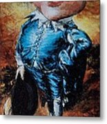 Mr Toad Metal Print