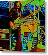 Mrdog #26 Enhanced In Cosmicolors 2 With Text Metal Print