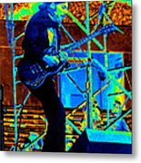 Mrdog #63 Enhanced In Cosmicolors Metal Print
