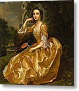 Mrs. Mary Chauncey Metal Print