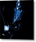 Mrush #12 In Blue Metal Print