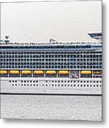M S Independence Of The Seas Metal Print