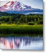 Mt Adams Sunset Metal Print