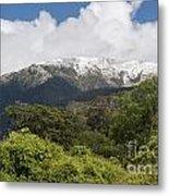 Mt. Aspiring National Park Mountains Metal Print