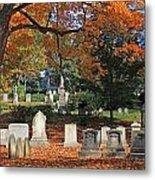 Mt Auburn Cemetery 12 Metal Print