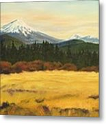 Mt. Bachelor Metal Print