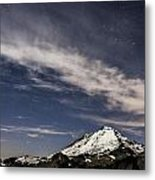 Mt. Baker At Night 2 Metal Print