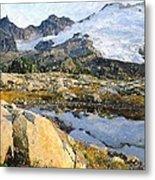 Mt Baker Washington State Metal Print