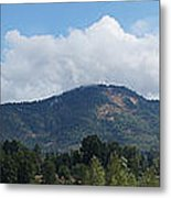 Mt Baldy Panorama From Grants Pass Metal Print