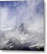 Mt. Earnslaw - New Zealand Metal Print