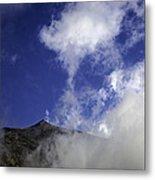 Mt. Etna  Metal Print