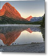 Mt. Grinnell Sunrise Metal Print