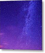 Mt. Hood Milky Way 01 Metal Print