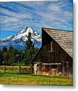 Mt Hood Oregon Metal Print