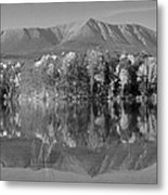 Mt Katahdin Baxter State Park Fall Metal Print