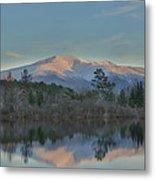 Mt Lafayette Reflections Metal Print