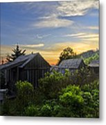 Mt Leconte Before Dawn Metal Print by Debra and Dave Vanderlaan