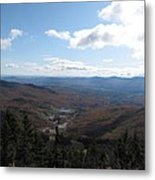 Mt Mansfield Looking East Metal Print