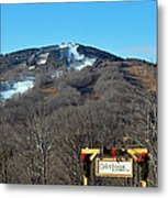 Mt Snow Vermont Metal Print