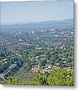 Mt. Soledad - View To The North Metal Print