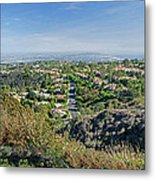 Mt. Soledad - View To The South Metal Print