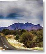 Mt Sonder Central Australia V2 Metal Print