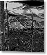 Mt St Helens Metal Print
