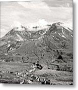 Mt St Helen's Metal Print