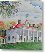 Mt. Vernon In The Fall Metal Print