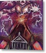 Mt. Vesuvius - Jupiter's Fury Metal Print