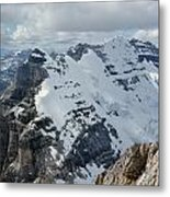 T-703510-mt. Victoria Seen From Mt. Lefroy Metal Print