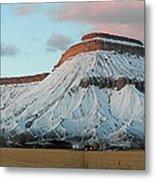 Mt.garfield Winter Metal Print