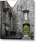 Muckrooss Abbey Ruin Metal Print