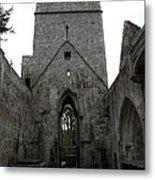 Muckross Abbey Steeple Metal Print