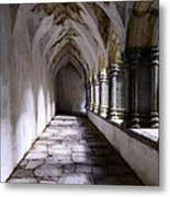 Muckross Abby Cloister Killarney  Ireland Metal Print