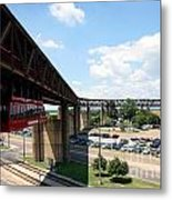 Mud Island In Memphis Metal Print