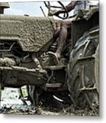 Mud Metal Print by Tim Gainey