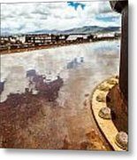 Muddled Reflection Metal Print by Tyler Lucas
