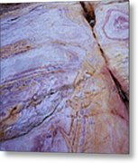 Muddy Mt. Sandstone B Metal Print