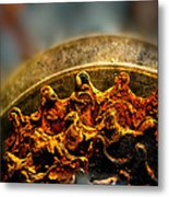 Muddy Rusty Sprockets Metal Print