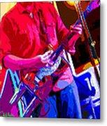 Muffler Guitar Metal Print