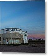 Muffler Shop Metal Print
