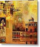 Mughal Art Metal Print
