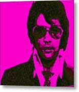 Mugshot Elvis Presley M80 Metal Print