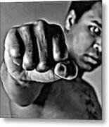 Muhammad Ali Fist Metal Print