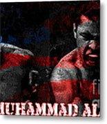 Muhammad Ali Metal Print