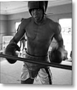 Muhammad Ali Works Out  Metal Print by Retro Images Archive