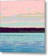 Mukilteo Clinton Ferry Panel 1 Of 3 Metal Print