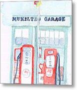 Mukilteo Garage Metal Print